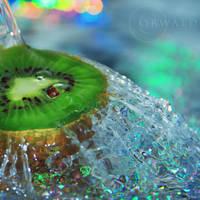 kiwi fruit by Orwald