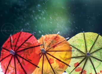 under the rain by Orwald