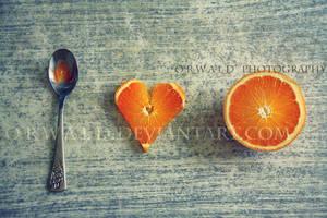 I love oranges by Orwald