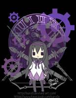 Puella Magi Madoka Magica- Homura Akemi by kuro0