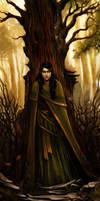 priestess by MichalDomanski