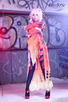 Guilty Crown Inori Yuzuriha Cosplay 13 (two guns) by multipack223