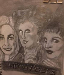 Hocus Pocus from the Sanderson Sisters by emmprez