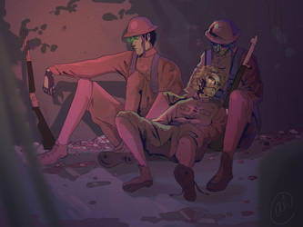 SPG during WWI by Jamocha101