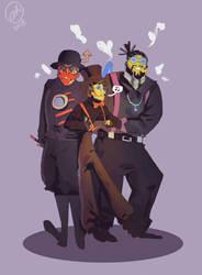 Third Robot Squad by Jamocha101