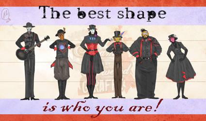 The Best Shape by Jamocha101