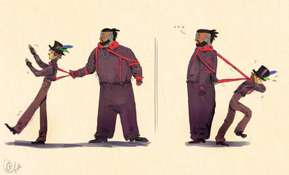 Red Suspenders by Jamocha101