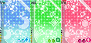 Love Live School Idol Festival Templates by kyaterina