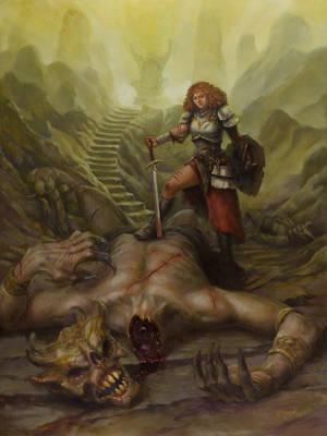 Demon Hunter by BrittMartin