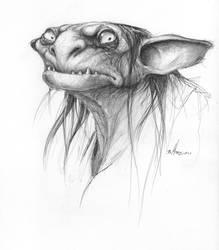 Goblin Sketch by BrittMartin