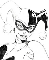 Harley Quinn by SarahCarswell