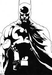 Batman by SarahCarswell