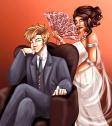 High Fashion | Liam and Selena by MaddieJK