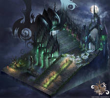 Dracula's Stair Full map by puyoakira