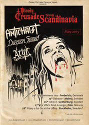 Bloody Crusade through Scandinavia 2013 by Skinperforator