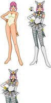 Animamate Pewter Fox senshi by PlanetXiN