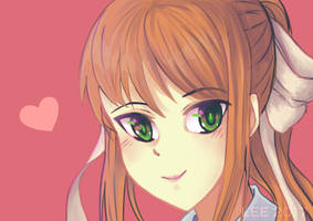 Monika by LilHeart
