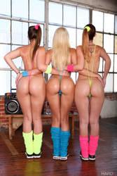 Dani Daniels, Anikka Albright, Karlie Montana by nv01