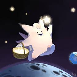 Clefable by Raiilynezz
