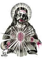 Zombiechrist Superstar - 2nd colorway by MetaMephisto