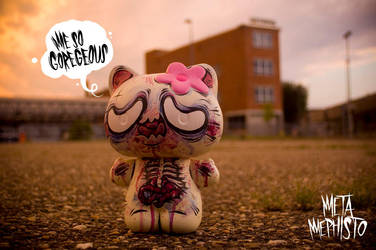 Hello Kitty Custom Toy by MetaMephisto
