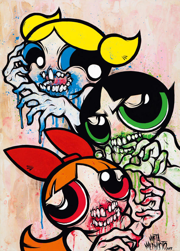 Powerpuff Gore by MetaMephisto