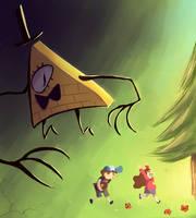 Gravity Falls by Sir-hoodie-knight