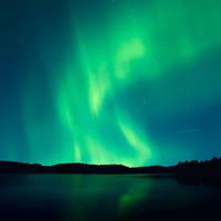 Aurora borealis by streamweb