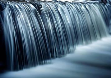 Jagged waterfall by streamweb