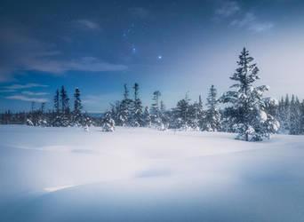 Winter fairytale by streamweb