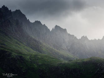 The Norwegian Dolomites by streamweb