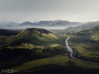 Otherworldly landscape by streamweb