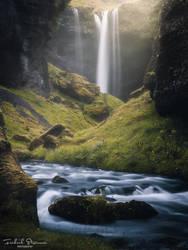 The land of waterfalls by streamweb