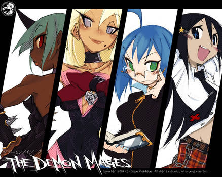 A01: THE DEMON MAGES 2008 by crybringer