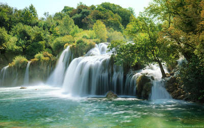 Krka Waterfall by shade-pl