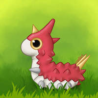 Wurmple by DiegoAGM