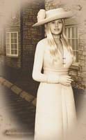 Edwardian Lady Portrait by kittenwylde