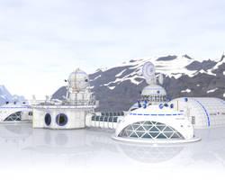 Ice Base - Iray Test by kittenwylde