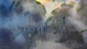 Forgotten Mountain Fortress by kittenwylde