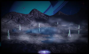 Alien Landscape by kittenwylde