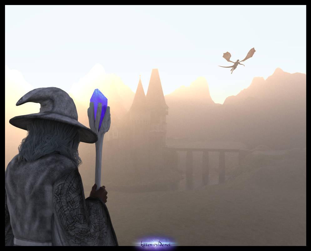 Fantasy Dawn by kittenwylde