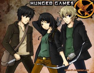 the hunger games by ichan-desu