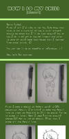 How I do my chibi Part I by ichan-desu