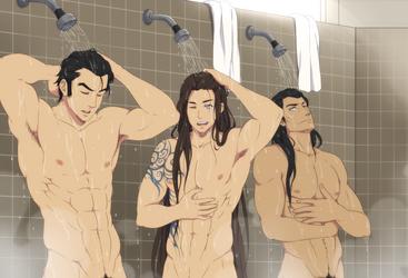 That shower made me so wet by ichan-desu