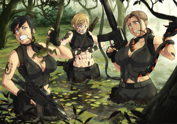 Swamp fiasco by ichan-desu