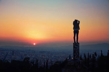 Top of Athens by VhPhoto