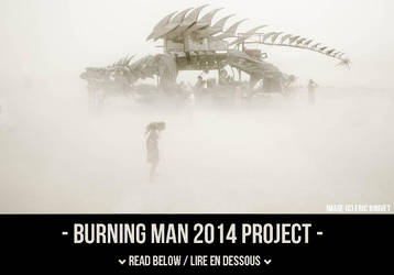 Burning Man launching by VhPhoto