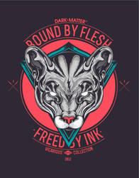 Bound by Flesh / Freed by Ink ( DARK-MATTER, SOON) by jfe