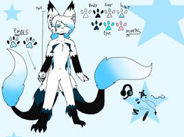 Onyx In Furry Version REF by XGalacticxStudios18X