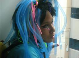 Lost raver girl by Black-Kandi
